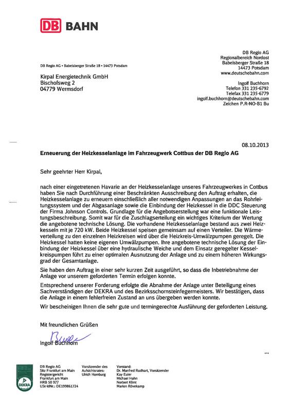 Ket Energietechnik - Energie- und Versorgungstechnik - Referenzen ...